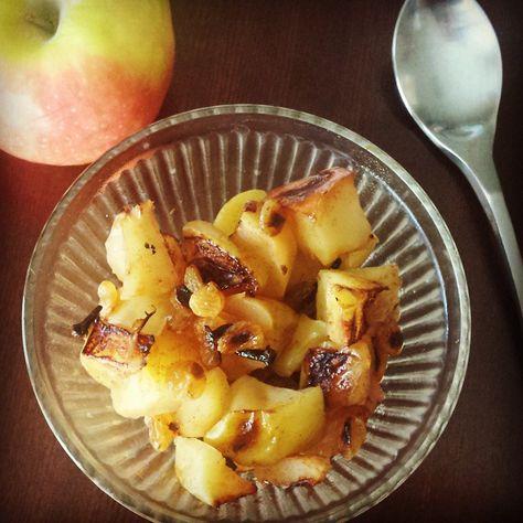 Cooked Apples with Cloves! Beetje meer water, en misschien wat extra kaneel - beetje kokosolie