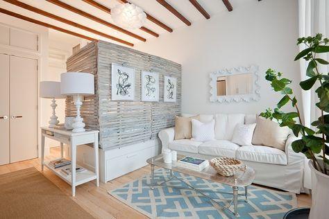 einzimmerwohnung moderner Shabby Chic Maritim wohnen Pinterest - einzimmerwohnung