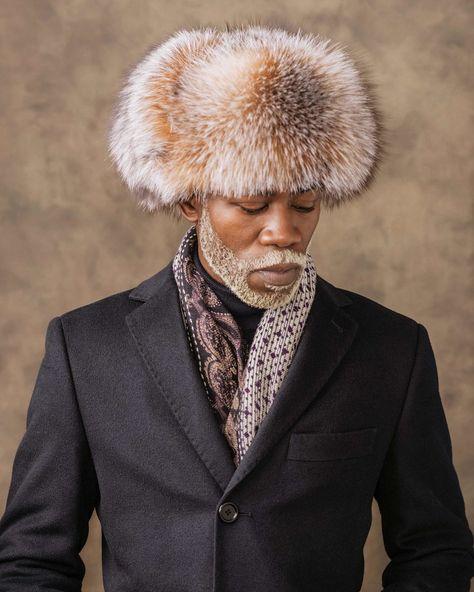 Men Aviator Trapper Hat Cap Flying Fur Winter Ski Ushanka Beanie Faux Leather JW