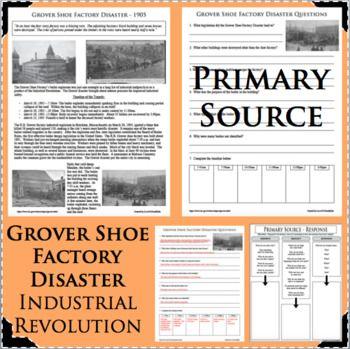 Grover Shoe Factory Disaster Dbq Primary Source Progressive