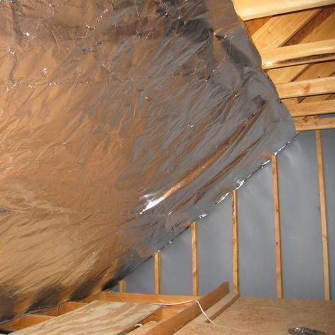 Radiant Barrier Ultima Foil 500 Sf Breathable 4 Feet X 125 Feet Attic Flooring Attic Remodel Foil Insulation