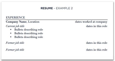 Updating your resume with multiple jobs at one company Sample resume - sample resume for jobs