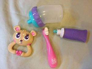 Baby Alive Accessories Bottle Toothbrush Toothpaste Rattle Baby Alive Dolls Baby Alive Baby Doll Furniture