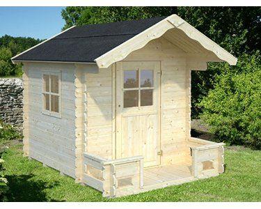 Palmako Kinderspielhaus Sam Fichte 194 Cm X 200 Cm X 240 Cm Kaufen Bei Obi Gartenhaus Kinder Holz Spielhaus Im Freien Haus