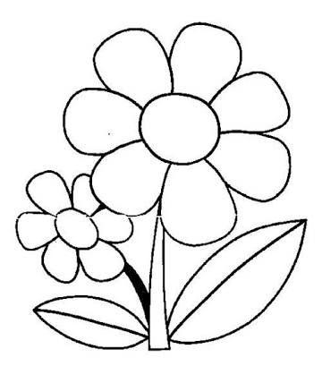 Resultado De Imagem Para Flor Desenho 5 Petalas Mosaico De