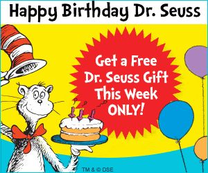 FREE Dr. Suess Gift - Limited Time! - Blessed Beyond A Doubt