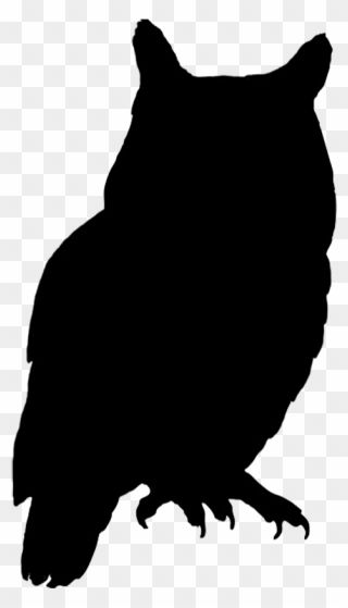 Owl Bird Silhouette Clip Art Owl Silhouette Png Transparent Png Owl Silhouette Bird Silhouette Silhouette Clip Art