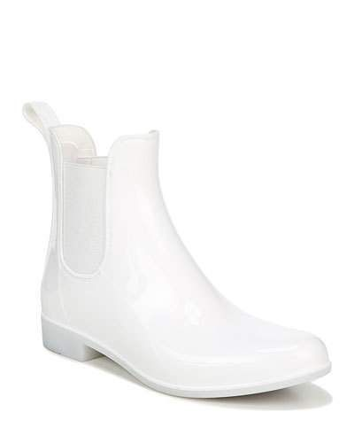 White rain boots, Chelsea rain boots