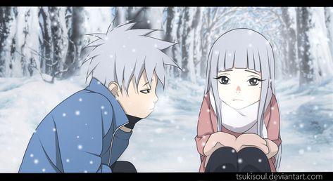 Boruto OC Obito and Kaori - Winter by TsukiSoul ...