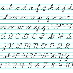 Pin on handwriting letters