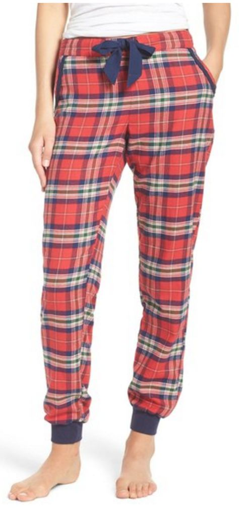 Plaid Flannel Lounge Pants