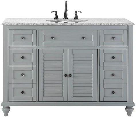Hamilton 49 W Shutter Bath Vanity
