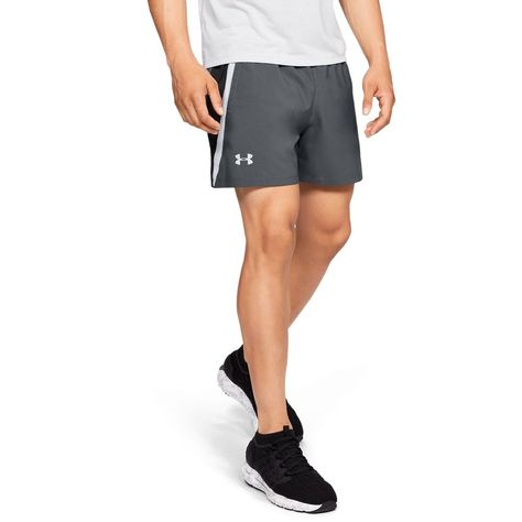Under Armour Mens Launch SW - Pitch Gray XL shorts shorts shorts shorts outfits shorts