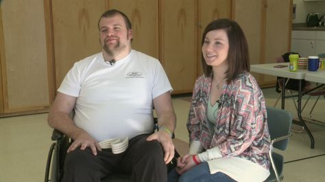 Long road to recovery for young father of two injured dirt biking (WHO-TV NBC 13, Iowa)
