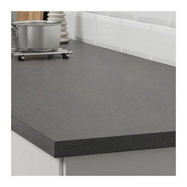 Ekbacken Worktop Concrete Effect Laminate 186x2 8 Cm Countertops Laminate Countertops New Countertops