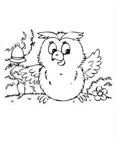 Image Detail For Cute Baby Owl Coloring Page
