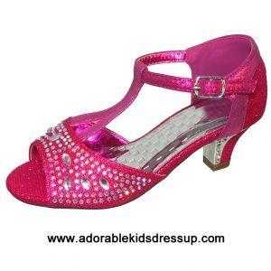 Kids High Heels Fuschia Girls High Heels High Heels For Kids Girls High Heel Shoes