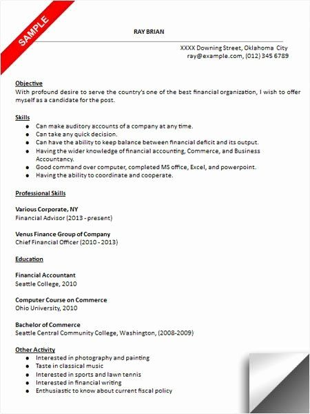Full Charge Bookkeeper Resume Unique Bookkeeper Resume Sample Resume Examples In 2020 Job Resume Samples Resume Examples Resume