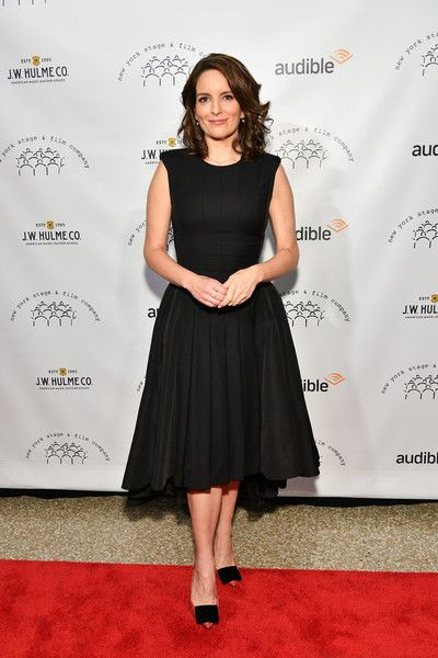 Honoree Tina Fey attends the 2017 New York Stage & Film Winter Gala.