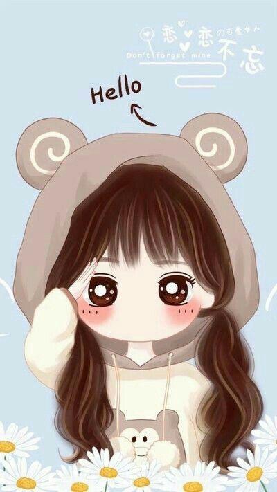 Pin Oleh Ezael Di Cute Ilustrasi Karakter Gadis Animasi Ilustrasi