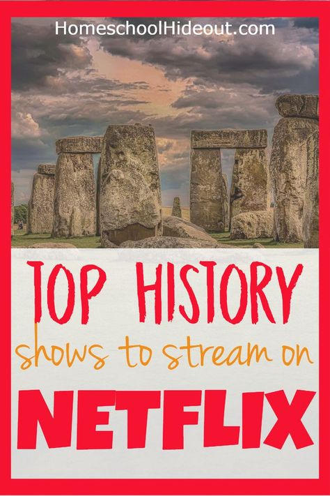 You don't want to miss this complete list of the best educational shows to stream on Netflix! Natural disasters, animals, wars, biographies and MORE! Teaching Social Studies, Teaching History, Teaching Kids, Teaching Tools, Educational Videos, Educational Activities, Netflix Kids, Story Of The World, Netflix Streaming