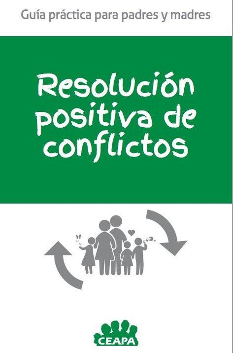 Resolución positiva de conflictos. Guía práctica para padres y madres . El contenido os va a encantar, trata temas tan importantes como; decir NO, NEGOCIACIÓN, las RESPONSABILIDADES, la prevención del CONSUMO DE DROGAS y por supuesto la GESTIÓN POSITIVA DE CONFLICTOS.