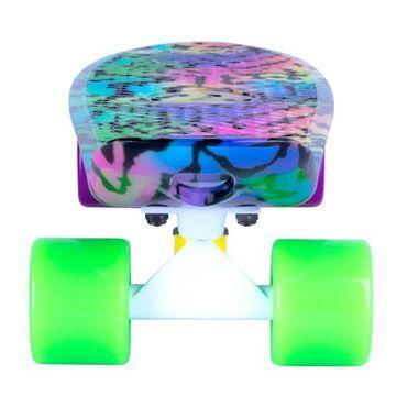 Deskorolka Pennyboard Fiszka Dla Dzieci Kolorowa 7864419061 Oficjalne Archiwum Allegro Skateboard