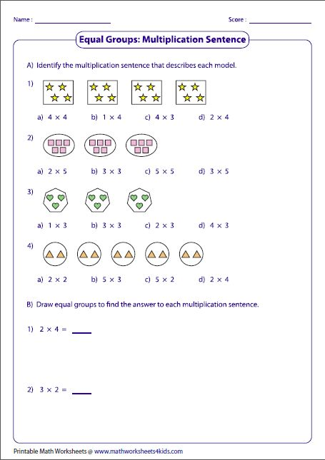 Pin On Akku Studies Count equal groups worksheets grade