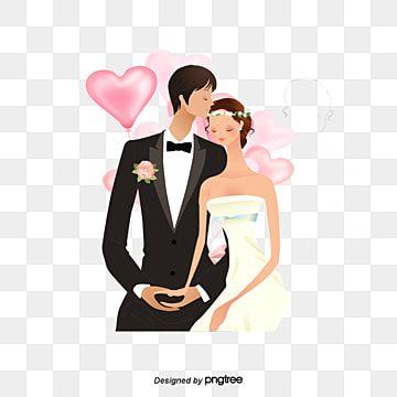 عروس و عريس العروس رسالة دعوة دعوة زفاف Png وملف Psd للتحميل مجانا Bride Groom