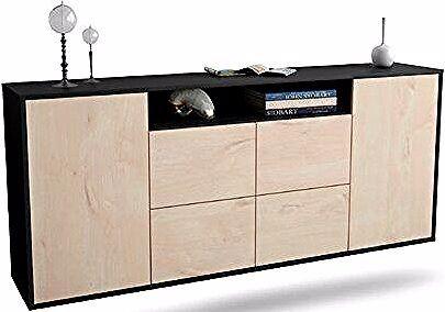 Sideboard Howardwick Ebern Designs Farbe Korpus Front Anthra