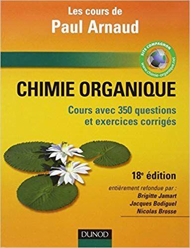 Chimie Organique Cours Avec 350 Questions Et Exercices Corriges Lecture En Ligne Pdf Epub Mobi Math Formulas Lesson Books