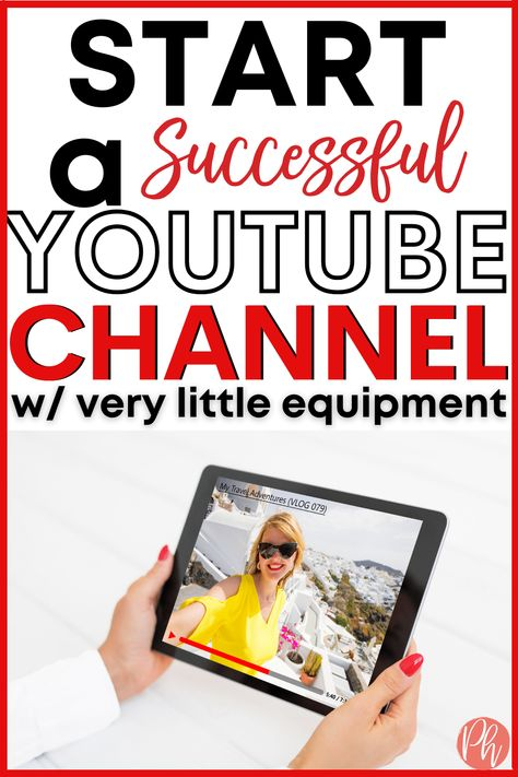 How to Start & Launch a SuccessfulYouTube Channel in 2021 with Just your iPhone