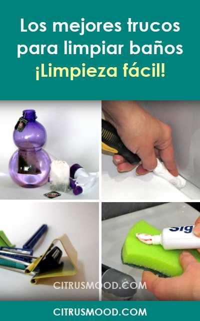 Los Mejores Trucos Para Limpiar Baños Limpieza Fácil Limpieza Limpiarbanos Baños Trucos Soap Bottle Hand Soap Bottle Soap