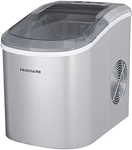New Frigidaire Ice206 Counter Top Compact Ice Maker Silver See