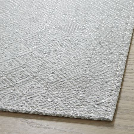 Chilewich Mosaic Grey Woven Floormat 26 X72 Reviews Crate And Barrel Mosaic Crate And Barrel Woven