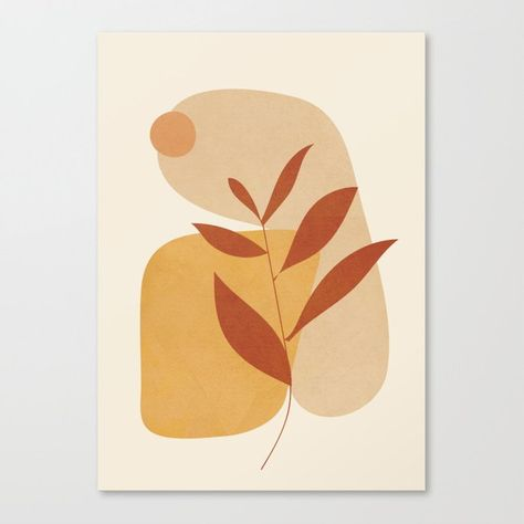 Abstract Shapes No.18 Canvas Print by City Art - MEDIUM