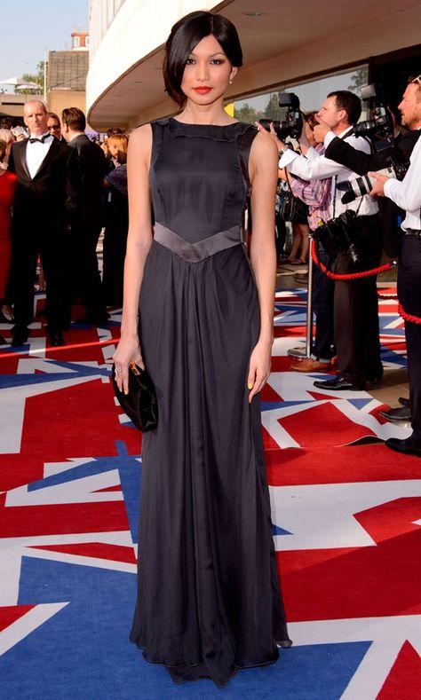 Gemma Chan At The BAFTA Awards 2012