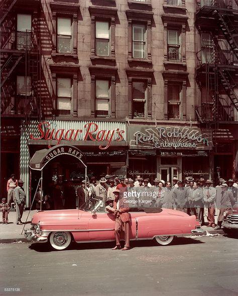 182-k 1950s SAN FRANCISCO STREET SCENE PHOTO Vintage Cars