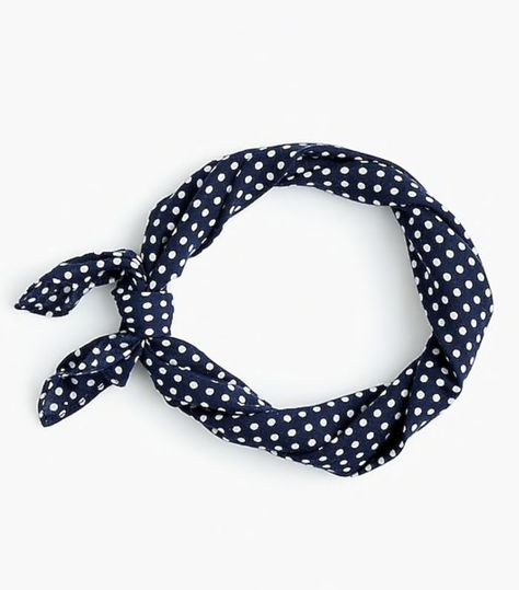 J.Crew Bandana Scarf in Dot