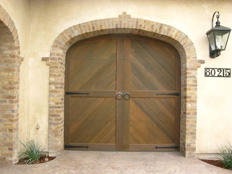 1 3 11 042 Wood Garage Doors