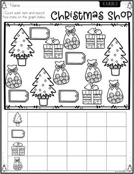 Christmas Math Worksheets Kindergarten By Momma360 Tpt Christmas Math Worksheets Kindergarten Christmas Math Worksheets Kindergarten Math Activities