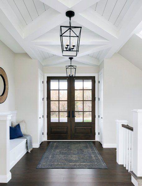 Top 40 Best Foyer Lighting Ideas Illuminated Entrance Designs