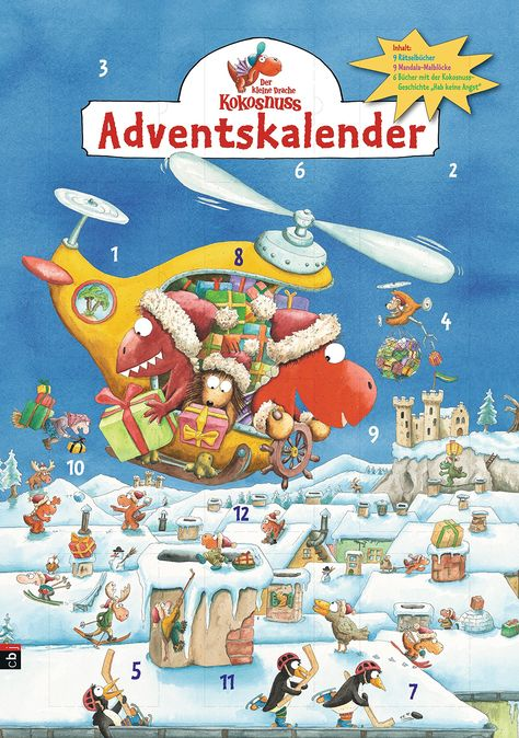 Der kleine Drache Kokosnuss Adventskalender: