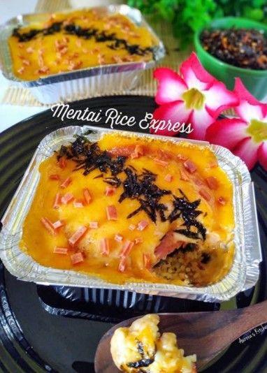 Mentai Rice Express Di 2020 Resep Masakan Resep Masakan