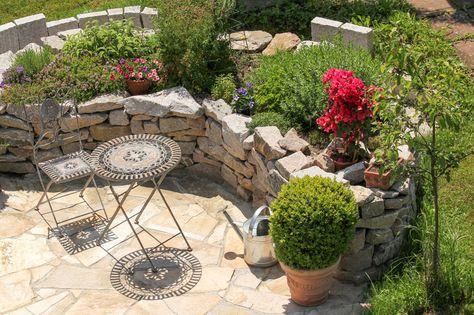 15 Ideen Hochbeet Aus Holz Stein Oder Metall Garten Hochbeet Mediterraner Garten Und Sitzecken Garten