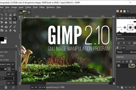 GIMP open source image editor forked to fix 'problematic
