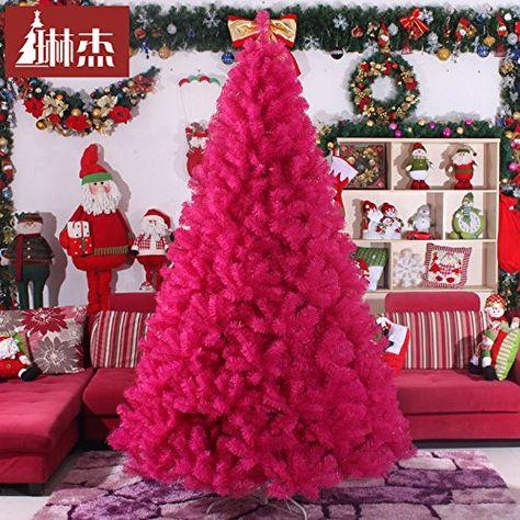 Albero Di Natale 400 Cm.Wangjialin Il Rosso Di Alberi Di Natale 400cm 4m Le Decorazioni Di