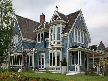 Image Result For Red Green And Blue Victorian House Victorian