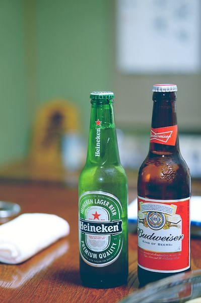 Heineken budweiser