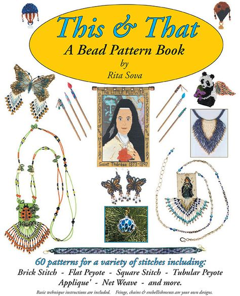 Sova-Enterprises.com Black Friday Specials! Don't miss out! Currently 50% off SALE - This & That Beading Pattern Book by Rita Sova!